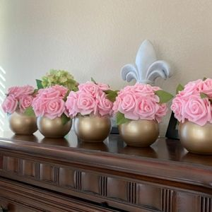 Elegant 28pcs Pink Roses  Brand new   Super Fast D